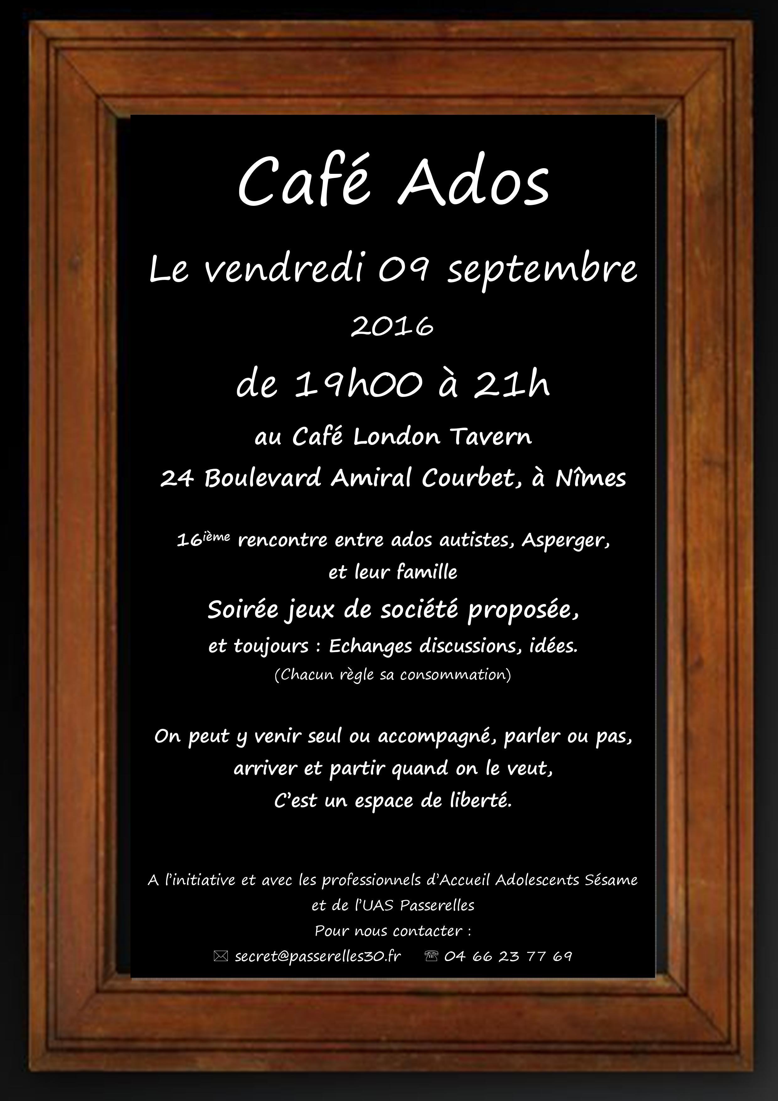 café ado septembre