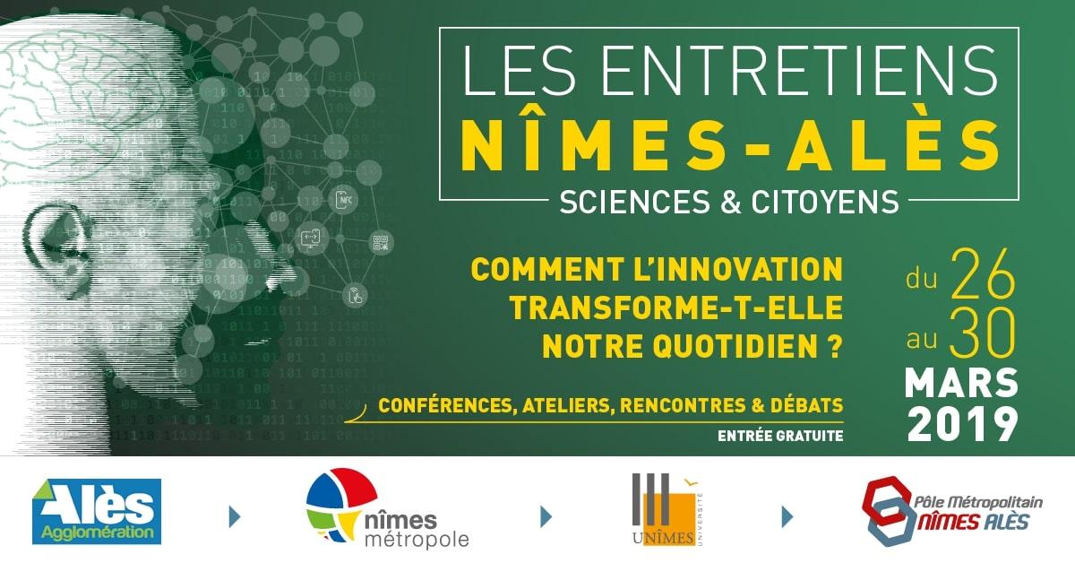 Les entretiens Nîmes-Ales du 26 au 30 mars 2019